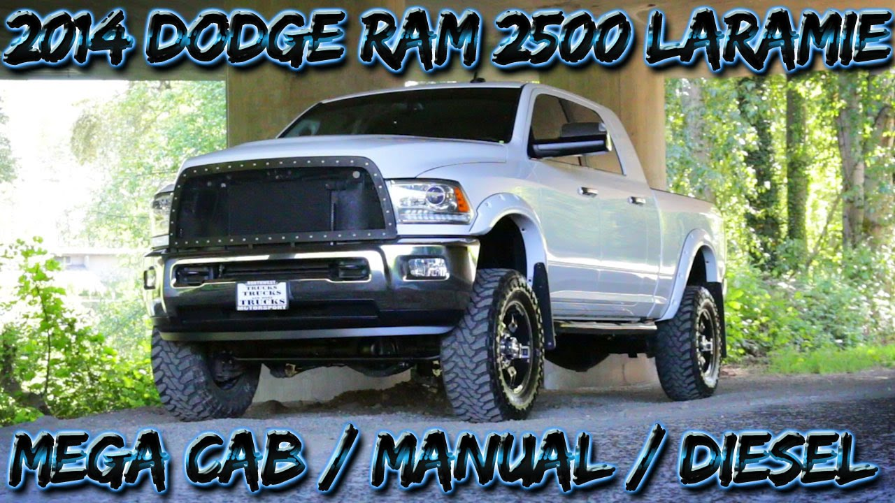 2014 dodge ram 2500 laramie mega cab manual diesel northwest rh youtube com dodge ram 1500 manual transmission for sale dodge diesel manual transmission for sale