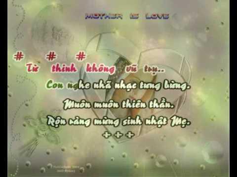 Mung Sinh Nhat Me - demo
