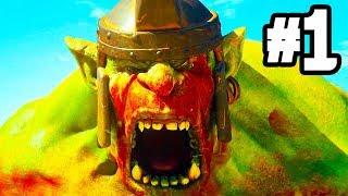 EXTINCTION Gameplay Walkthrough Part 1 - MASSIVE MONSTERS  (PS4 PRO)