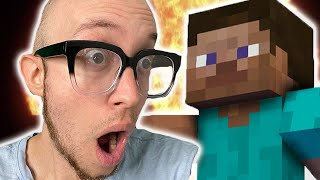 MINECRAFT STEVE IS IN SMASH (REACTION)