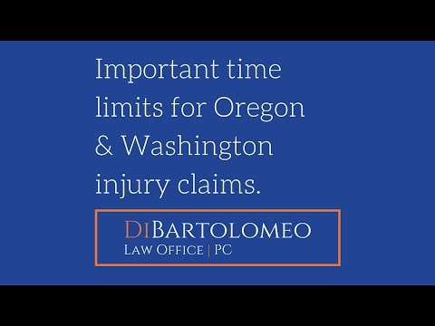 The Clock is Ticking:  Oregon and Washington Injury Claim Time Limits