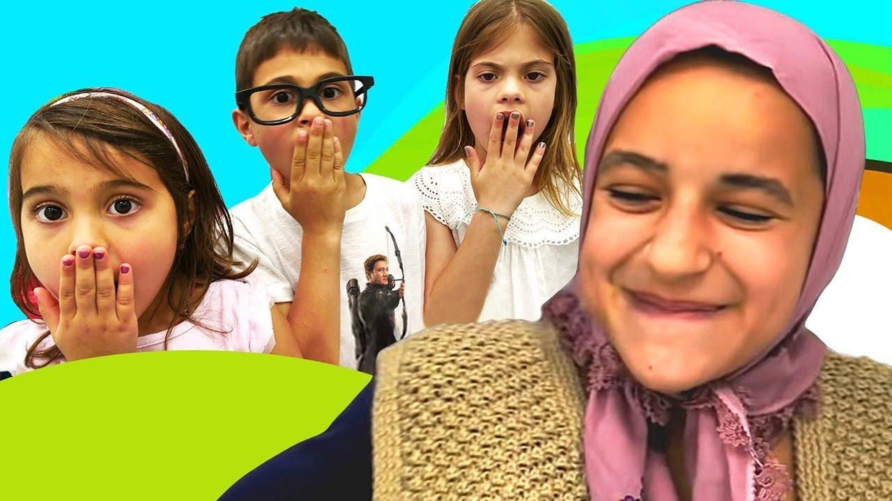 Fındık ailesi ve anneanne. Komik video derlemesi