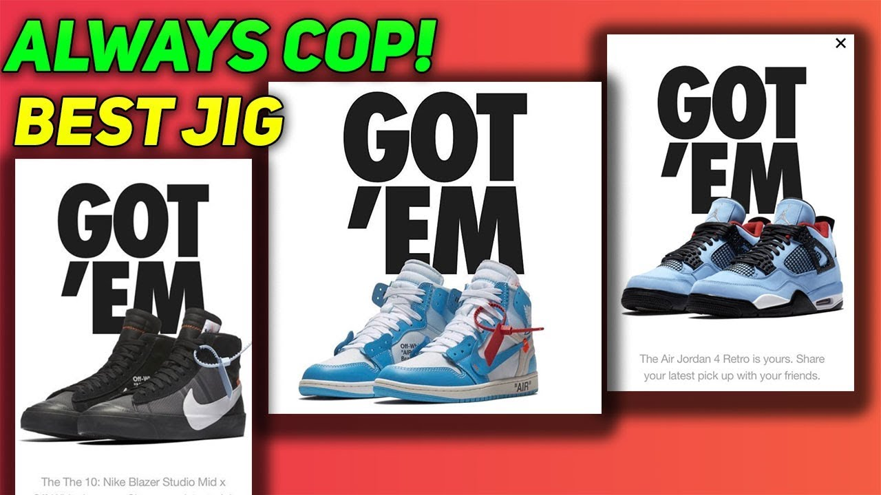 How To Win EVERY SNKRS Drop (Manual Jig