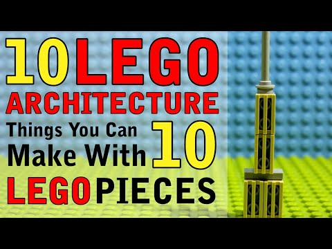 Download 10 Architecture Things You Can Make With 10 Lego Pieces