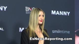 Taylor Ann Hasselhoff Huge Manny Pacquiao Fan - EsNews Boxing
