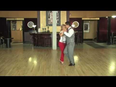 Аргентинское танго. Базовые фигуры для начинающих. Детально.