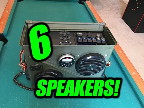6 SPEAKER AMMO BOX!