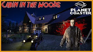 Cabin in the Woods! - Planet Coaster - Halloween Spotlight #2