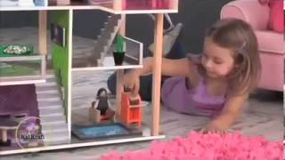 Kidkraft Modern Living Dollhouse 65822 With Dollhouse Furniture At Http   Wooden Toys Direct Co Uk