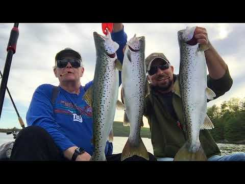 Quabbin Reservoir Fishing 2018
