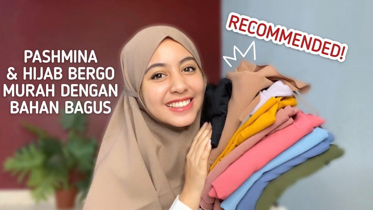 Shopee Haul Hijab Murah Kualitas Bagus Youtube