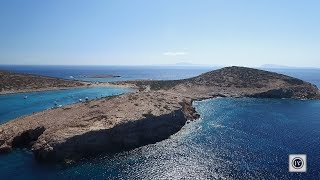 Amorgos Island - Cyclades Greece - Drone video