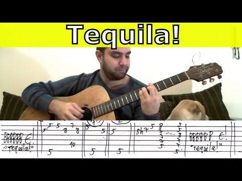 Tutorial: Tequila! - Fingerstyle Guitar w/ TAB - YouTube