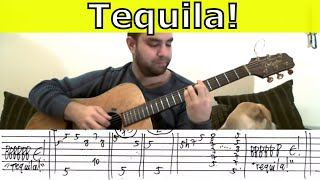 Tutorial: Tequila! - Fingerstyle Guitar w/ TAB