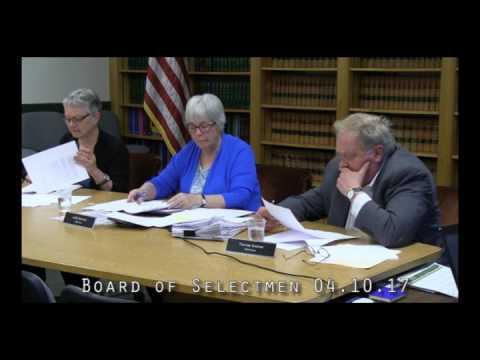 Board of Selectmen 04.10.17