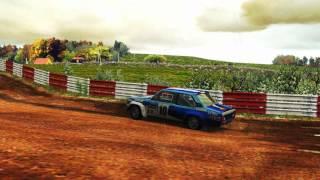 Richard Burns Rally - Fiat 131 Abarth @ Versme - gravel fun NGP