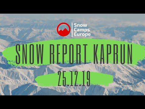 Snow Report Zell Am See Kaprun Winter 19 20 25th December 2019