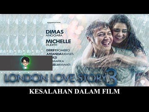 KESALAHAN DALAM FILM LONDON LOVE STORY 3 2018 #86
