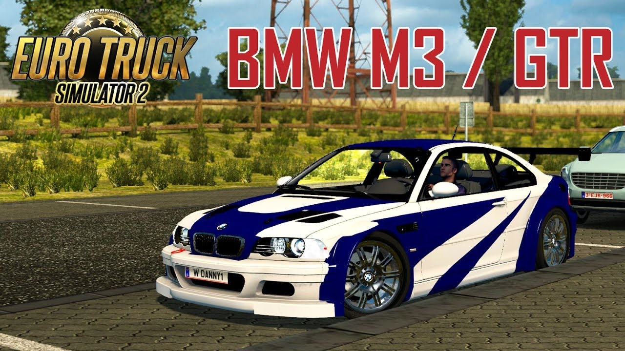 Bmw M3 Gtr Euro Truck Simulator 2 Mod Youtube