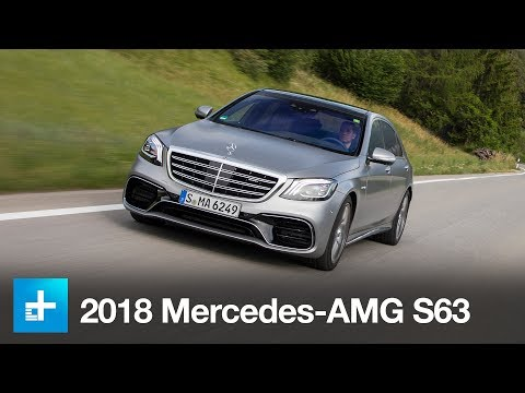 2018 Mercedes-AMG S 63 4Matic+ First Drive
