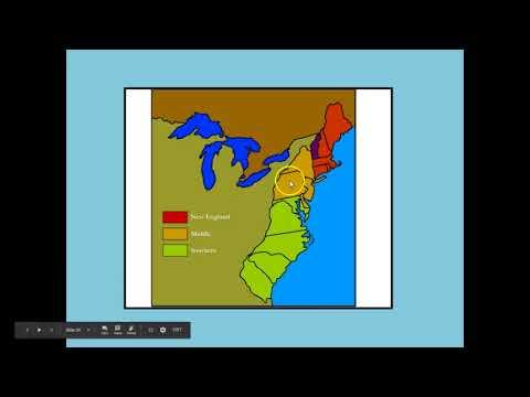 Unit #1 Notes B - 13 Colonies Characteristics