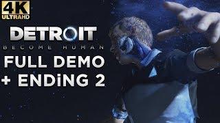 (4K) DETROiT Become Human | DEMO Ending 2 | (PS4Pro)