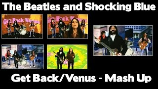 The Beatles and Shocking Blue Together in 1969. The Beatles - Stevi...