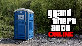 GTA 5 Glitches - How To Get Inside a Portable Toilet, Titan Plane & Shipping Container Online!