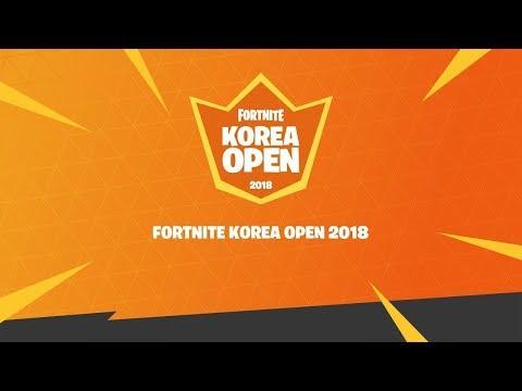 **FORTNITE KOREA OPEN!!** DUOS MATCH!!