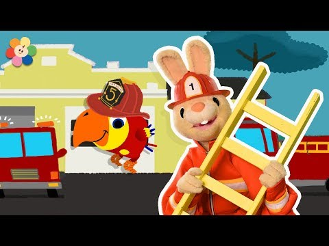 Kids Vocabulary - Fireman | Harry & Larry Full Episodes | Educational Learning Videos by Baby First