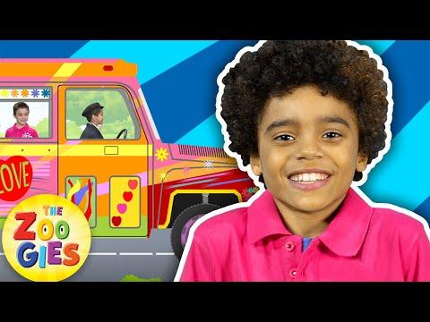The Wheels on the Bus 🚌 | #ZouzouniaTV Nursery Rhymes & Kids Songs