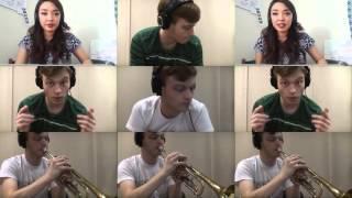 The Black Eyed Peas - Let's Get it Started (Trumpet Arrangement ft. Alina Jasmine)