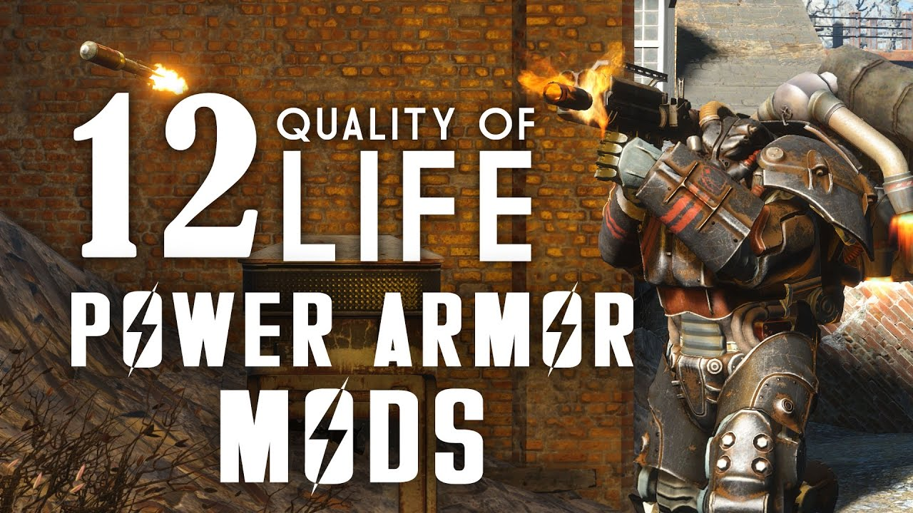 12 Quality of Life Power Armor Mods for Fallout 4