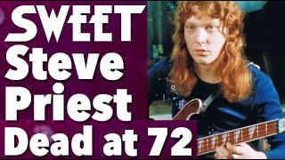 Steve Priest Of Sweet Dead At 72
