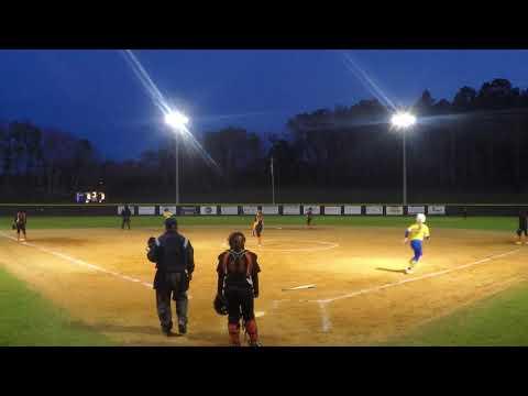 Madilynne Webb Highlights vs Graceville High School