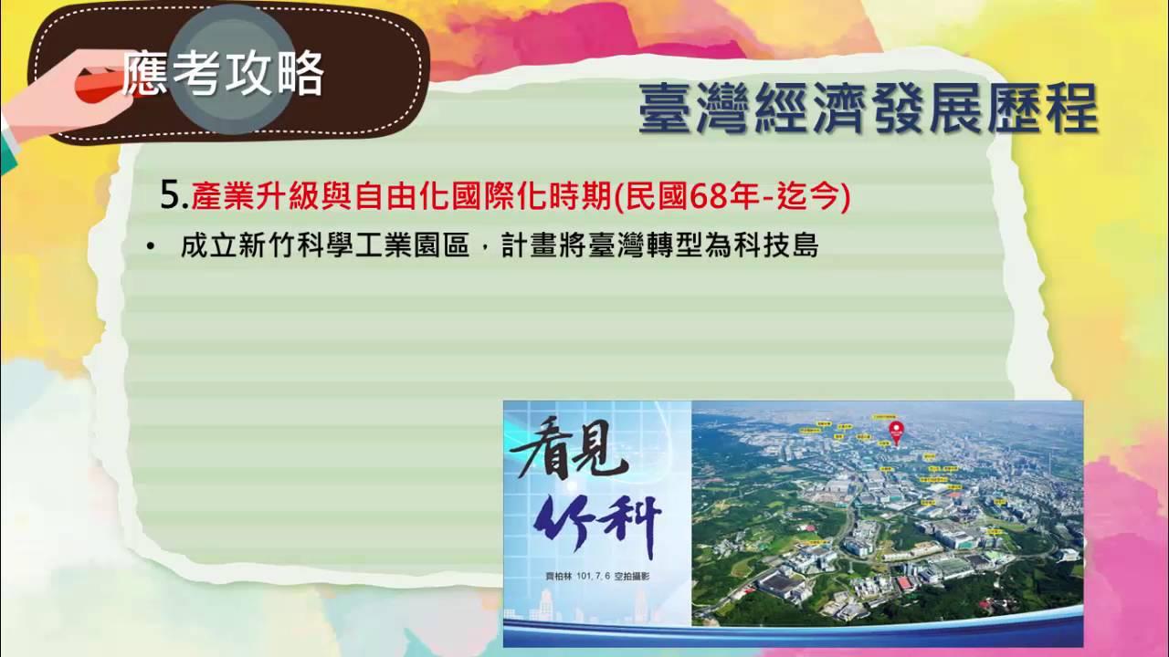 04 中華民國時期:當代臺灣 -- 大考充電站 (105指考歷史總複習 ) - YouTube