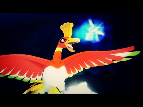 Pokemon Sun and Moon Wi-Fi Battle: Ho-Oh Sacred Fire When I Spit! (1080p)