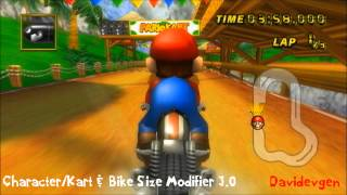 Mario Kart Wii ~ Bullet Bill Curve Tightness (And More)