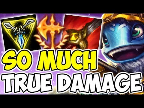 WHO KNEW THE POWER! Fizz Jungle Full Ad On-Hit Attack Speed Build League Of Legends Season 9