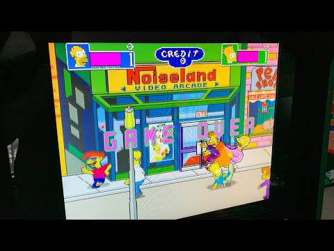 THE SIMPSONS ARCADE TURNS 30!  Will we see an Arcade1up cabinet of this classic in 2021? from The 3rd Floor Arcade with Jason