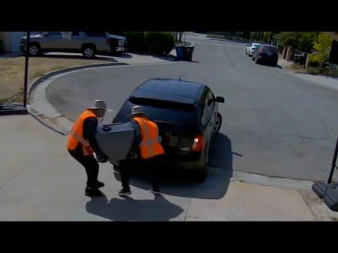 洛杉矶窃贼3天2上门 搬走保险箱 华人饱受惊吓(图/视频)