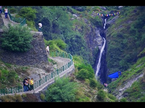 Dharamshala  Bhagsu WaterFall