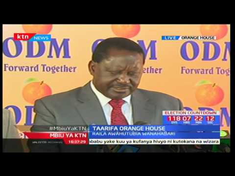 Raila - Story of households connected to electricity is full of contradiction