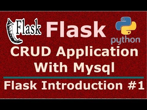1 Python Flask CRUD Application With Mysql Introduction