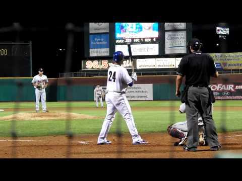 Jose Bautista Rehab Home Run #2