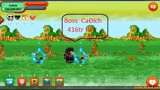 Ngọc Rồng Online-Con Đường Rắn Độc tầng 99 xử đẹp boss CaĐích 400tr HP
