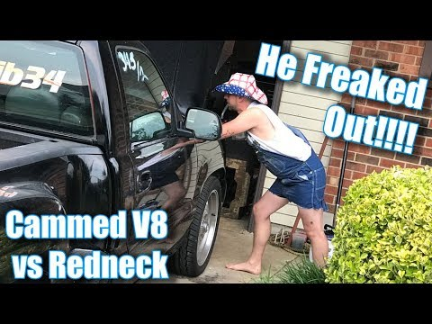 His FIRST TIME Hearing a Cammed V8 in Person *Emotional*