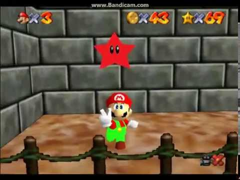 Super Mario 64 Secret Slide on Tall Tall Mountain
