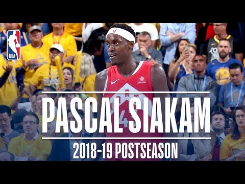 Best Plays From Pascal Siakam | 2019 NBA Postseason