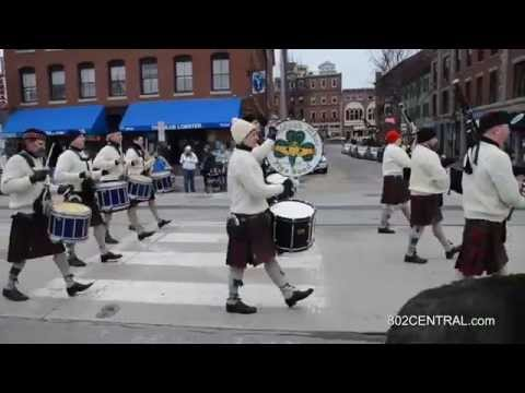 2015-March 15 St Patrick's Day Parade in Portland Maine.